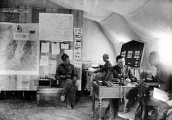 Operations Office of the 147th Aero Squadron in France, May–June, 1918