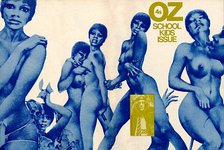 "Oz number 28, also known as the ""Schoolkids issue of OZ"", which was the main cause of a 1971 high-profile obscenity case in the United Kingdom. Oz was a UK underground publication with a general hippie / counter-cultural point of view."