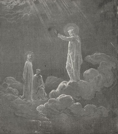 The Divine Comedy, Paradise, illustration by Gustave Doré