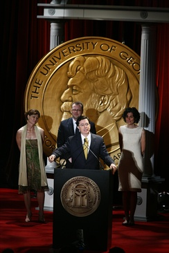 Stephen Colbert and the crew of The Colbert Report at the 67th Annual Peabody Awards