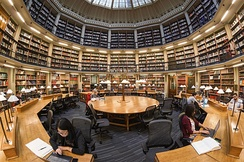 The Round Reading Room at the Maughan Library