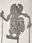 Wayang puppet from Bali, Indonesia