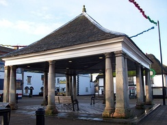 The 17th-century buttercross in Whittlesey, Cambridgeshire.
