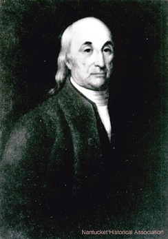 William Rotch senior (1734-1828), American owner of British South Sea whalers.