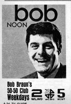 1969 Advertisement for The Bob Braun Show appearing in TV Guide.