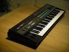 The Yamaha DX7.