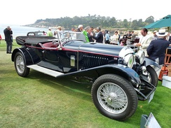 1929 4½ Litre with original Thrupp & Maberly four seat coachwork