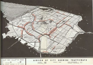The Panhandle Freeway was in the 1948 SF Freeways plan.