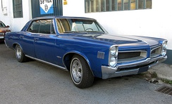 1966 Pontiac LeMans four-door hardtop