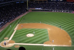 "The 2008 AL Central tiebreaker game (better known as the ""blackout game"") as the Sox shutout the Twins 1–0"