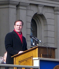 Schuette at his 2011 Inauguration