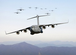 C-17 Globemaster III, the USAF's newest and most versatile transport plane