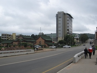 Central Bank in Mbabane