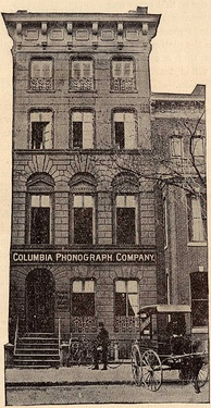 Original home of Columbia in Washington, D.C., in 1889