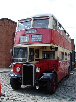 1949 Crossley DD42 ex Manchester City Transport.