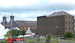 The Old Bushmills Distillery in County Antrim