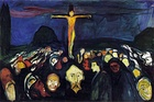 Golgotha, 1900, oil on canvas, Munch Museum, Oslo