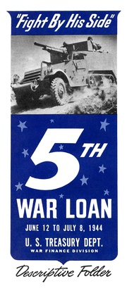 Welles led the Treasury Department's campaign urging Americans to buy $16 billion in War Bonds to finance the Normandy landings (June 12 – July 8, 1944).