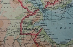 French Somaliland in 1922.