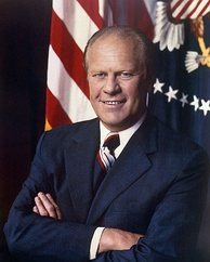 Former President Gerald Ford was the grand marshal in 1979.
