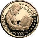 James Madison $5 commemorative gold coin