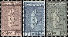 Trans-Juba postage stamps of 1926.