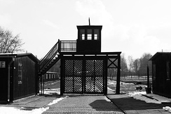 Stutthof concentration camp set up in September 1939; the first Nazi facility of its kind built outside of Germany; eventually 65,000 Polish prisoners died in the camp