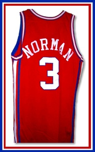 Norman's Clippers jersey.