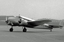 Sidney Cotton's Lockheed 12A, in which he made a high-speed reconnaissance flight in 1940.