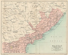 Madras province (North), 1909