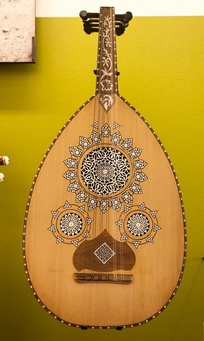 The oud is a common instrument in traditional Djibouti music.