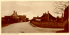 "The village of Scrooby, England circa 1911, home to the ""Saints"" until 1607"