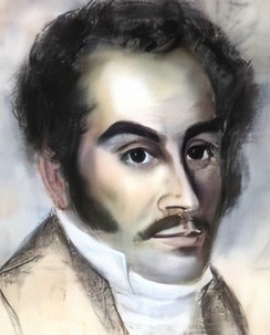 Bolívar in 1816, during his stay in Haiti