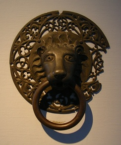 Bronze doorknocker