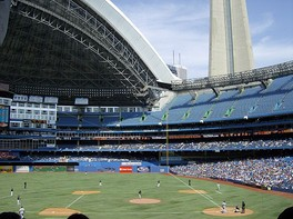 Toronto Blue Jays host the Detroit Tigers at Rogers Centre