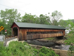 The Ware-Hardwick Covered Bridge, Hampshire and Worcester Counties