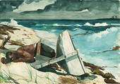 Winslow Homer, After the Hurricane, 1899