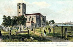 St Mary Magdalene around 1840