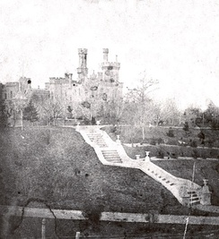 Yates Castle, former home of the School of Education (Photo courtesy of the Syracuse University Archives)