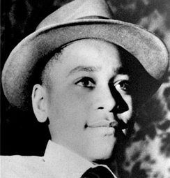 Emmett Till was a fourteen-year-old boy whose 1955 lynching mobilized the black community throughout the U.S.[60]