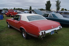 From 1970 the Cutlass Supreme Holiday Coupe wore a unique notchback roofline.