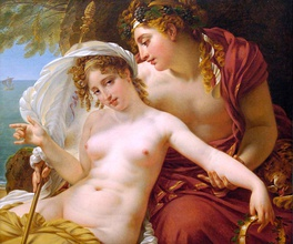 Bacchus and Ariadne (1822) by Antoine-Jean Gros.
