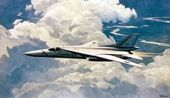 Artist concept of a lengthened FB-111