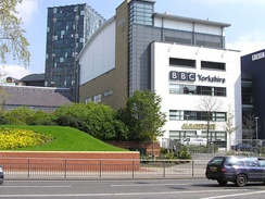 BBC Radio Leeds' main studios are at the BBC Yorkshire buildings on St. Peter's Square in Leeds.