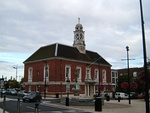 Town Hall including screens and public lavatories adjoining north east and south