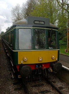 Class 115 DMUs operated Marylebone - Banbury local services between 1960 and 1992