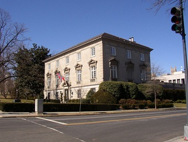 Norwegian embassy to the United States, in Washington D.C.