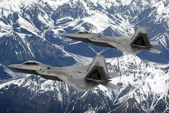 F-22 Raptors of the 3rd Wing