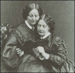 Georgina Hogarth and Mamie Dickens