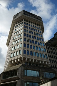 The Home Office building where Cameron worked during the 1990s